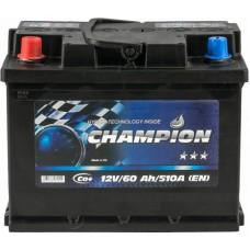 Автомобильный аккумулятор Champion 6СТ-60 L+ Black