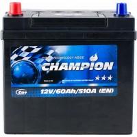 Автомобильный аккумулятор Champion 6СТ-60 L+ Jis Black
