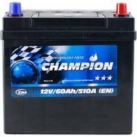 Автомобильный аккумулятор Champion 6СТ-60 R+ Jis Black