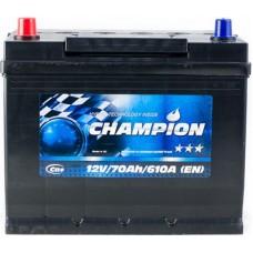 Автомобильный аккумулятор Champion 6СТ-70 L+ Jis Black