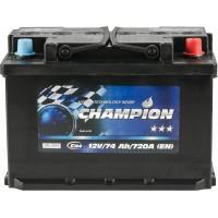 Автомобильный аккумулятор Champion 6СТ-74 R+ Black