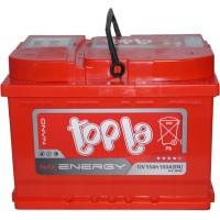 Автомобильный аккумулятор Topla 6СТ-55 R+ Energy