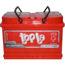 Автомобильный аккумулятор Topla 6СТ-75 R+ Energy