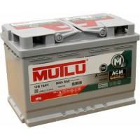 Автомобильный аккумулятор Mutlu 6СТ-70 R+ AGM