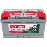 Автомобильный аккумулятор Mutlu 6СТ-95 R+ AGM