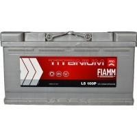 Автомобильный аккумулятор Fiamm 6СТ-100 R+ Titanium PRO