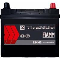Автомобильный аккумулятор Fiamm 6СТ-45 R+ asia Titanium PRO Black