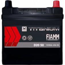 Автомобильный аккумулятор Fiamm 6СТ-50 R+ asia Titanium PRO Black