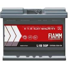 Автомобильный аккумулятор Fiamm 6СТ-50 R+ Titanium PRO