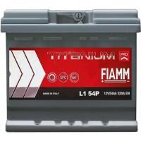 Автомобильный аккумулятор Fiamm 6СТ-54 R+ Titanium PRO