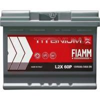 Автомобильный аккумулятор Fiamm 6СТ-60 L+ Titanium PRO