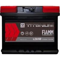 Автомобильный аккумулятор Fiamm 6СТ-60 L+ Titanium PRO Black