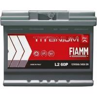 Автомобильный аккумулятор Fiamm 6СТ-60 R+ Titanium PRO L2-60P