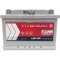 Автомобильный аккумулятор Fiamm 6СТ-60 R+ Titanium PRO L2B 60P(600)