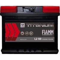 Автомобильный аккумулятор Fiamm 6СТ-60 R+ Titanium PRO Black