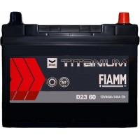 Автомобильный аккумулятор Fiamm 6СТ-60 R+ asia Titanium PRO Black