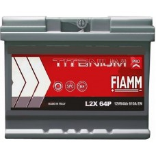 Автомобильный аккумулятор Fiamm 6СТ-64 L+ Titanium PRO