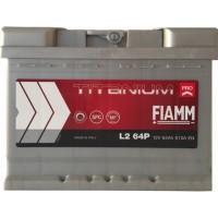 Автомобильный аккумулятор Fiamm 6СТ-64 R+ Titanium PRO