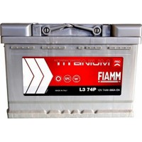 Автомобильный аккумулятор Fiamm 6СТ-74 R+ Titanium PRO