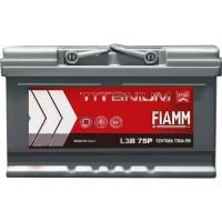 Автомобильный аккумулятор Fiamm 6СТ-75 R+ Titanium PRO