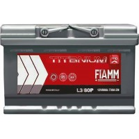 Автомобильный аккумулятор Fiamm 6СТ-80 R+ Titanium PRO