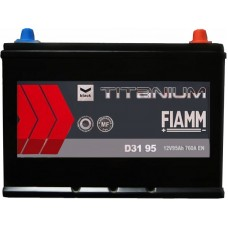 Автомобильный аккумулятор Fiamm 6СТ-95 R+ asia Titanium PRO Black