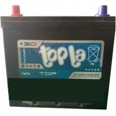 Автомобильный аккумулятор Topla 6СТ-60 L+ Top Asia