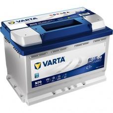 Автомобильный аккумулятор Varta 6СТ-70 START STOP PLUS (N70)